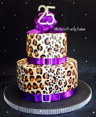 Leopard spots cake  - Cake by Mirtha's P-arty Cakes