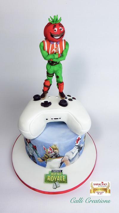 Fortnite Birthday Cake - Cake by Calli Creations