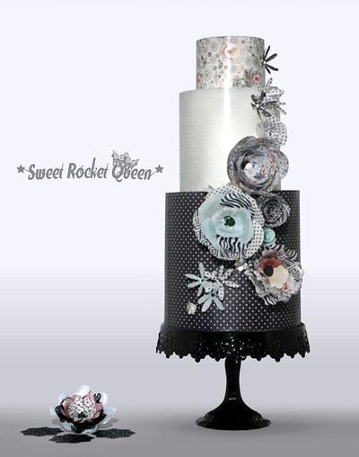 Stylized Flowers - Cake by Sweet Rocket Queen (Simona Stabile)