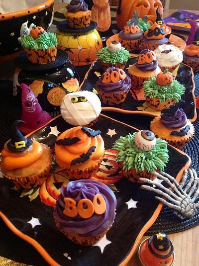 Halloween cupcakes - Cake by Andrias cakes scarborough