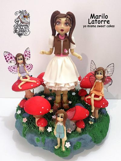 Fairy Ring (Primavera de fábula) - Cake by Marilo Latorre  yo misma sweet cakes