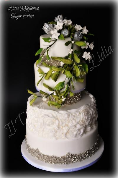 Christmas wedding......Winter wedding - Cake by Il Dolce Mondo di Lidia