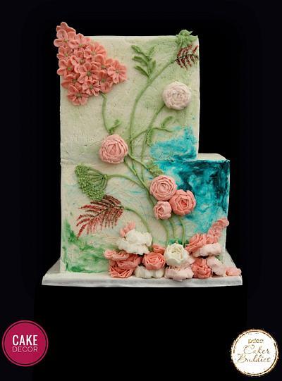Aislinn - A Caker Buddies  Collaboration - buttercream   - Cake by thecakedecor