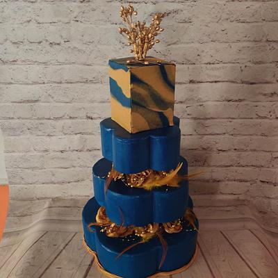 Royal Wedding Cake - Cake by Dr RB.Sudha