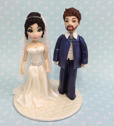 Wedding topper  - Cake by Ribana Cristescu