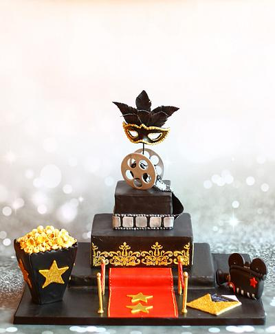 Glamorous Bollywood Party - Cake by NehasBakery