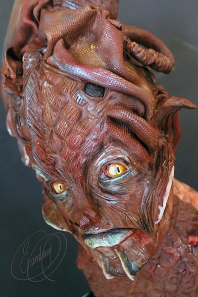 creature cake - Cake by Erandeny Cuevas