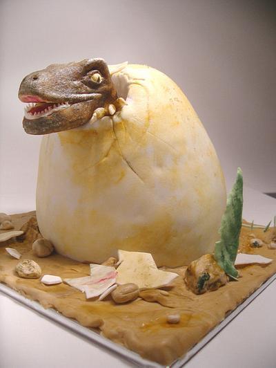 velociraptor - Cake by alexeiv