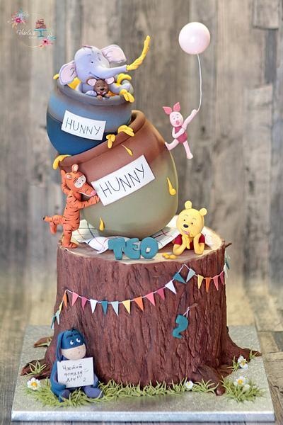 Pooh's Adventures  - Cake by Vesela Jekova
