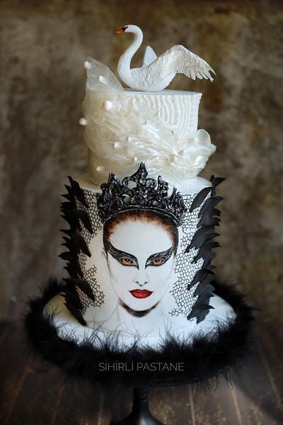 Black Swan Movie Cake - Cake by Sihirli Pastane