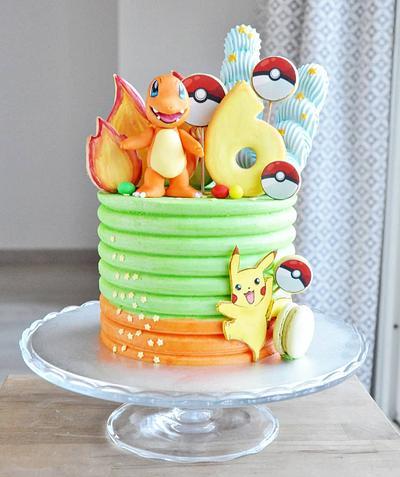 Charmander cake - Cake by rincondulcebysusana
