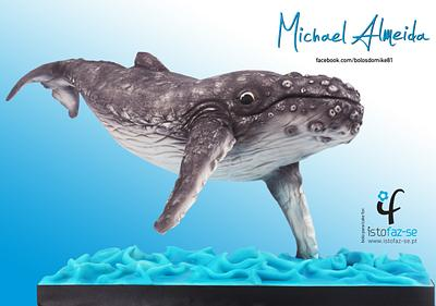 Suspended Whale - Cake by Michael Almeida