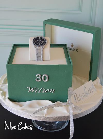 Rolex cake box - Cake by Paula Rebelo