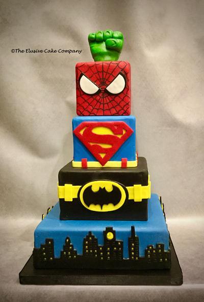 SuperHearo's - Cake by The Elusive Cake Company