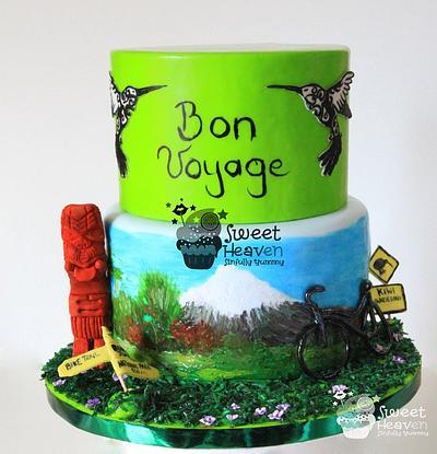 Farewell Cake - New Zealand - Cake by Sugar Linings