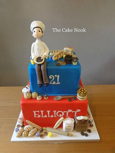 Baker Themed Birthday Cake - Cake by Zoe White