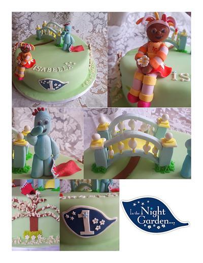 In the Night Garden - Cake by Katy Nott