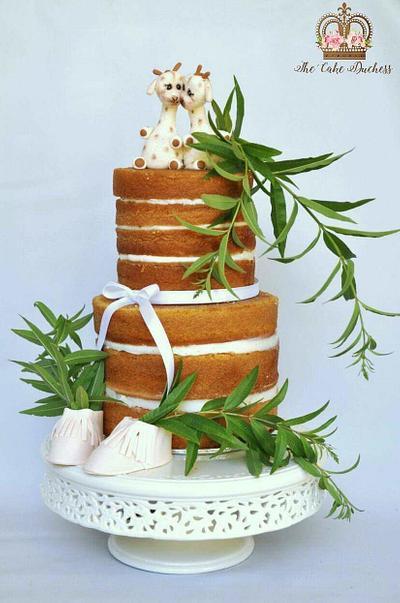 Twins - Cake by Sumaiya Omar - The Cake Duchess