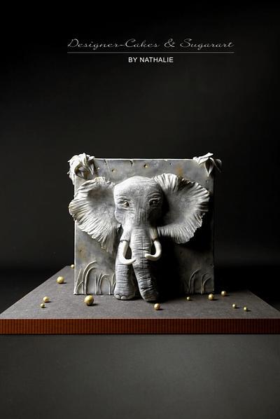 Elephant  - Cake by Designer-Cakes & Sugarart by Nathalie