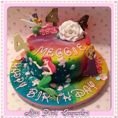 Disney princess  - Cake by Rachel Bosley