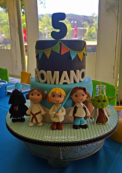 JEDI ROMANO! - Cake by The Cupcake Tarts