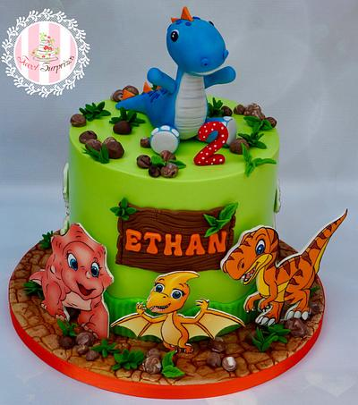 Dinosaurs - Cake by Sweet Surprizes