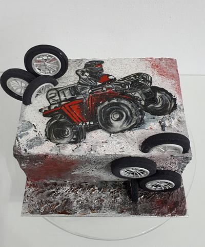 Birthday quad - Cake by Kaliss