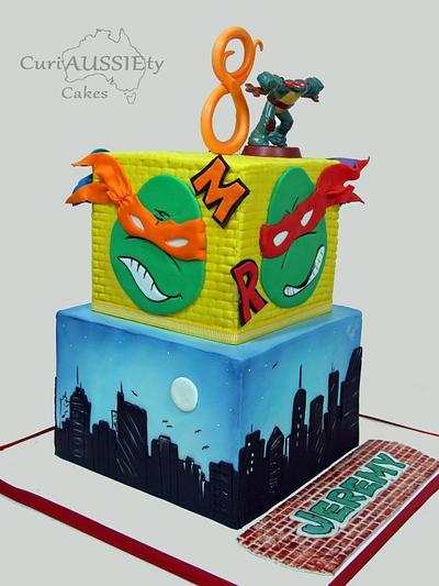 Icing Smiles Ninja Turtles cake - Cake by CuriAUSSIEty  Cakes