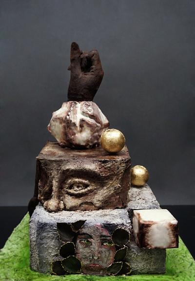 Pompei Chocolate Cake - Cake by Duygu Tugcu