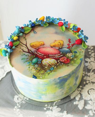 Happy Easter  - Cake by Maria *cakes made with passion*