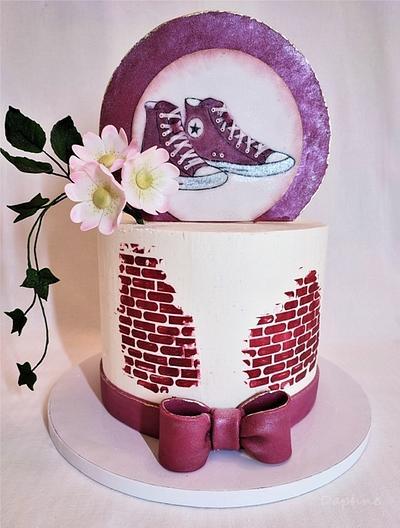 Converse cake - Cake by Daphne