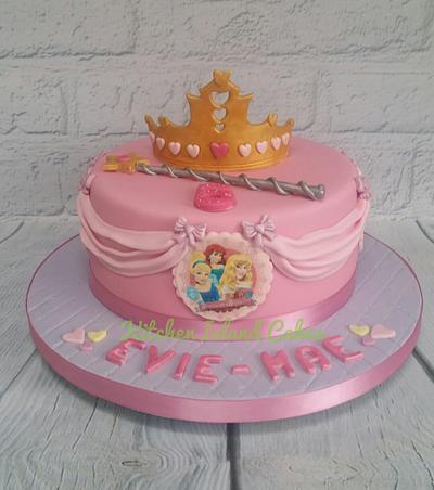Disney Princess cake - Cake by Kitchen Island Cakes