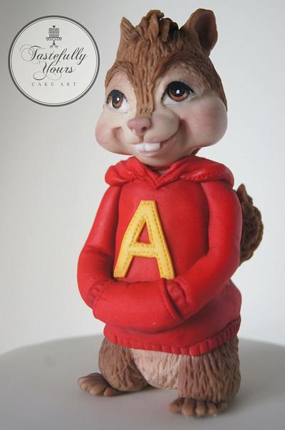 Alvin for Alvin - Cake by Marianne: Tastefully Yours Cake Art