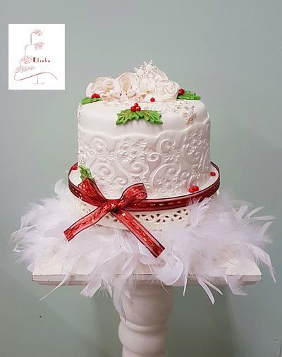 Merry christmas cake - Cake by Judith-JEtaarten