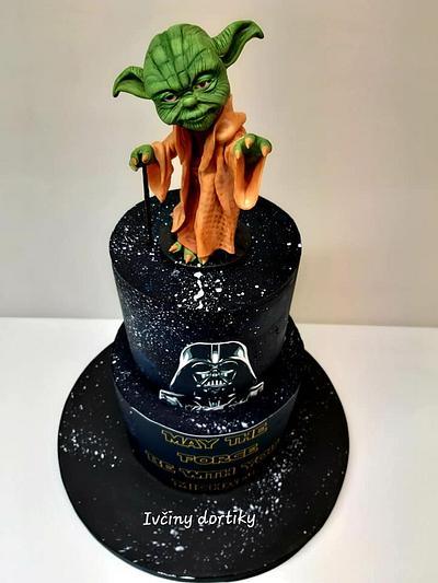 Yoda - Cake by Ivciny dortiky