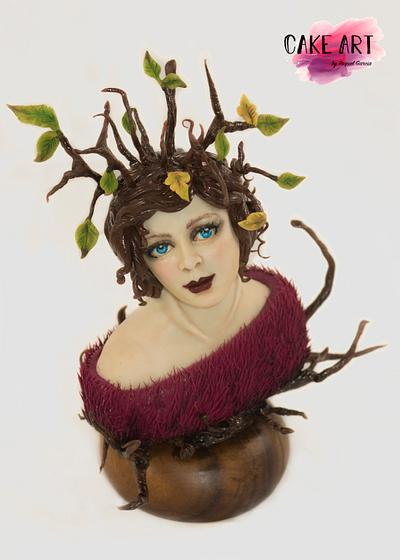 LADY LOUIS MOUNTBATTEN ( DALÍ IN SUGAR) - Cake by Raquel García