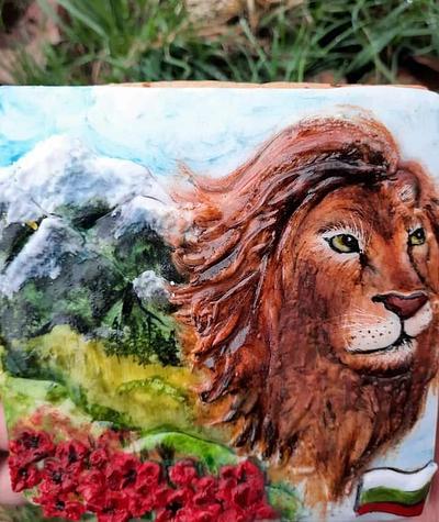 Lion - Cake by Morelloart