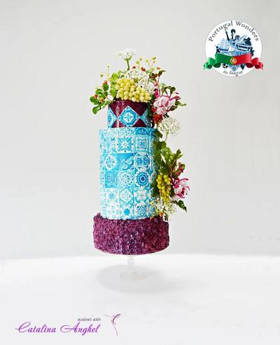 Portugal Wonders in Sugar - Oporto inspired cake - Cake by Catalina Anghel azúcar'arte