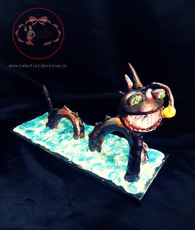FRIENDLY SEA MONSTER Under the Sea ~ Sugar Art Collaboration - Cake by Agatha Rogowska ( Cakefield Avenue)