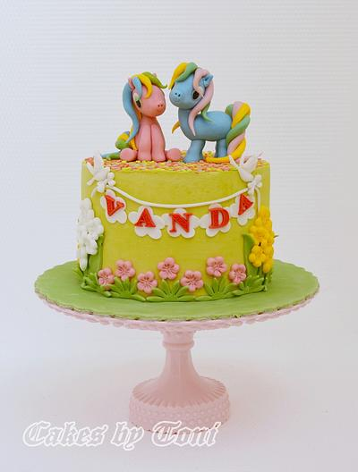 Sweet ponies - Cake by Cakes by Toni