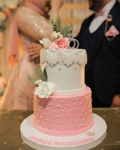 Engagement cake - Cake by emycakesdamnhor