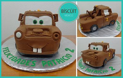 Tow Mater - Cake by BISCÜIT Mexico