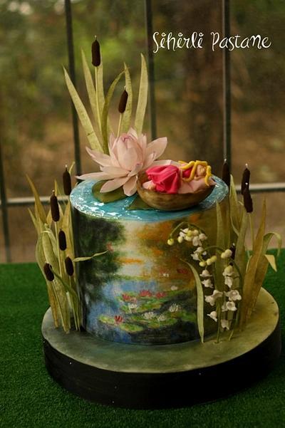 Thumbelina Fairytale Cake - Cake by Sihirli Pastane