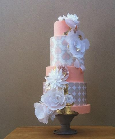 papier amour - Cake by Stevi Auble