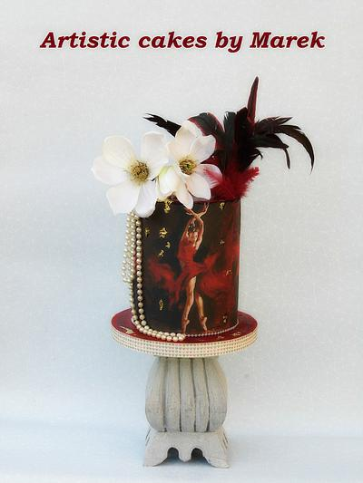 Ballerina girl birthdy cake - Cake by Marek