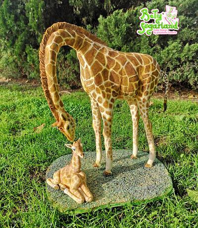 Giraffes Cake - Jirafas The Challenge - Cake by Bety'Sugarland by Elisabete Caseiro