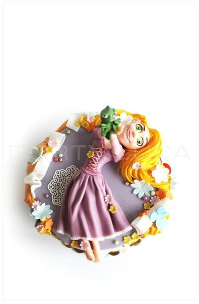 Rapunzel - Cake by Dorty LuCa