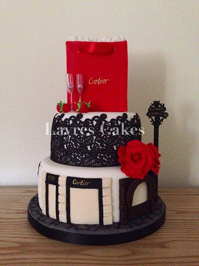 Pretty Woman Cake - Cake by Layres Cakes