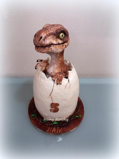Velociraptor - Cake by Ivciny dortiky