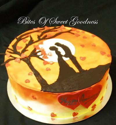 Sunset Romance ! - Cake by Reena Mendonsa